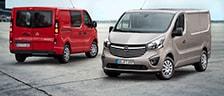 Les utilitaires Opel 2016