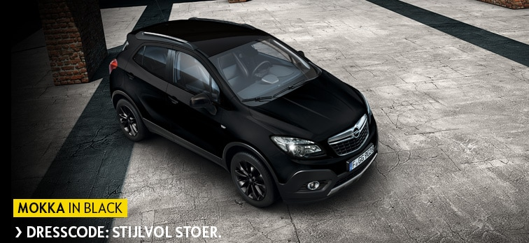 Mokka in black